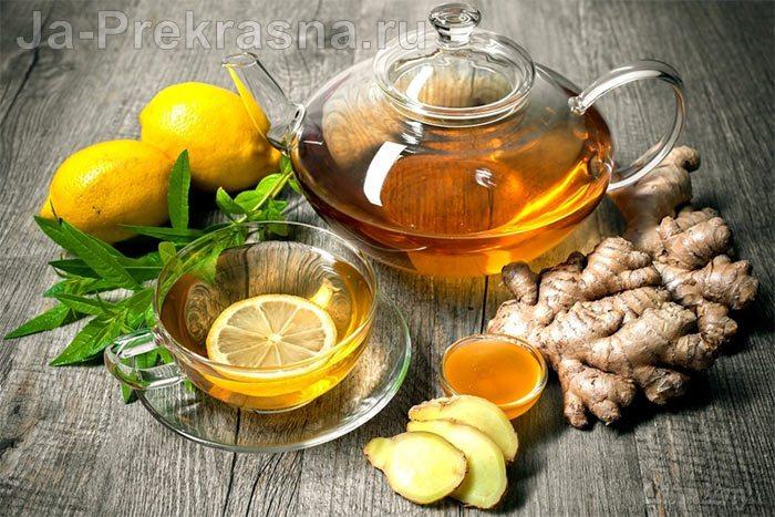 как похудеть с помощью имбиря и лимона рецепт чая